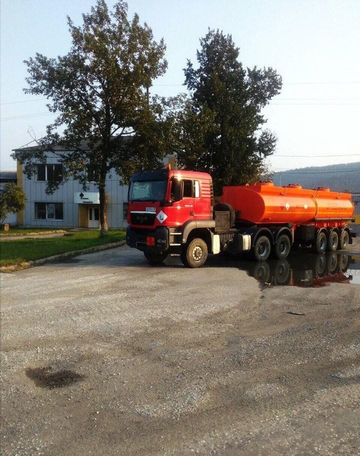Доставка топлива цистерной бензовозом-вездеходов от 2.5 до 30 кубов - Иркутск